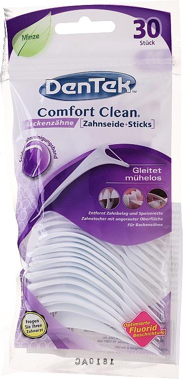Зубочистки с резьбой для коренных зубов - DenTek Comfort Clean — фото N1