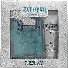 Parfumuri și produse cosmetice Replay Relover - Set (edt/50ml + sh/100ml)