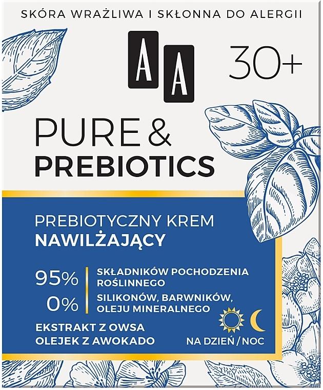 Увлажняющий крем для лица - AA Pure & Prebiotics  — фото N1