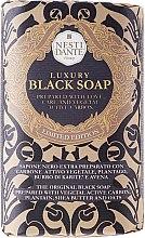 """Parfumuri și produse cosmetice Săpun """"Negru de lux"""" - Nesti Dante Luxury Black Soap"""