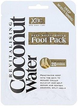 Mască-tratament pentru picioare - Xpel Marketing Ltd Coconut Water Foot Pack — Imagine N1
