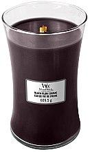 Parfumuri și produse cosmetice Lumânare aromatică - WoodWick Hourglass Candle Black Plum Cognac