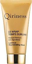 Parfumuri și produse cosmetice Mască anti-îmbătrânire pentru față - Qiriness Le Wrap Temps Sublime Masque Premium Anti-Age Global