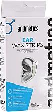 Parfumuri și produse cosmetice Ceară pentru urechi - Andmetics Ear Wax Strips Men