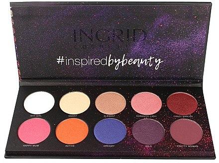 Paletă de farduri de ochi - Ingrid Cosmetics Colors Matt & Glam Palette