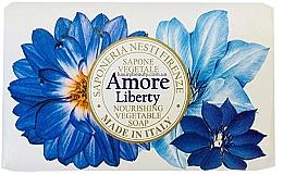 Parfumuri și produse cosmetice Săpun cu aromă de bergamotă, vetiver și crin de mare - Nesti Dante Amore Liberty Nourishing Vegetable Soap