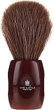 Parfumuri și produse cosmetice Pămătuf de ras 12705 - Vie-Long Peleon Horse Hair Shaving Brush Red Handle