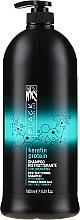 "Parfumuri și produse cosmetice Șampon regenerant pentru păr deteriorat ""Proteina keratină"" - Black Professional Line Keratin Protein Shampoo"