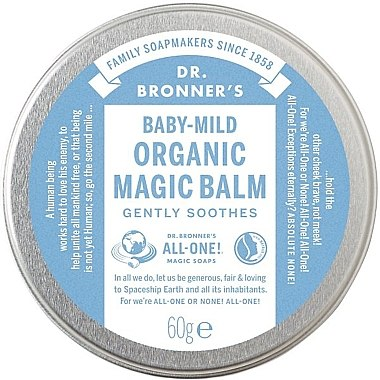 Balsam de corp - Dr. Bronner's Organic Magic Balm Baby-Mild — Imagine N1