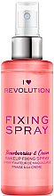 Parfumuri și produse cosmetice Fixator de machiaj - I Heart Revolution Fixing Spray Strawberries & Cream