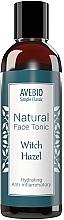 Parfumuri și produse cosmetice Tonic natural pentru față - Avebio Natural Face Tonic Witch Hazel
