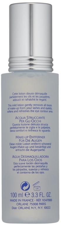 Soluţie demachiantă pentru ochi - Orlane Eye Makeup Remover Lotion — Imagine N2