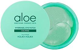Parfumuri și produse cosmetice Patch-uri sub ochi - Holika Holika Aloe Soothing Essence 80% Hydrogel Eye Patch