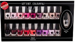 Parfumuri și produse cosmetice Set - Cosmetic 2K Let'S Get Colourful! (nail/laquer/19x3,5ml)