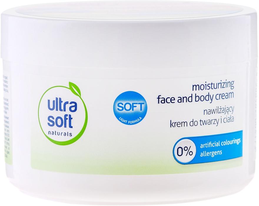 Cremă hidratantă pentru față și corp - Ultra Soft Naturals Moisturising Face and Body Cream