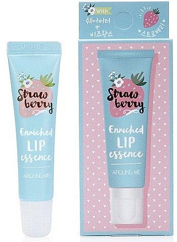 Esență pentru buze, aromă de căpșuni - Welcos Around Me Enriched Lip Essence Strawberry
