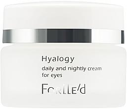 Parfumuri și produse cosmetice Cremă pentru zona din jurul ochilor - ForLLe'd Hyalogy Daily And Nightly Cream For Eyes