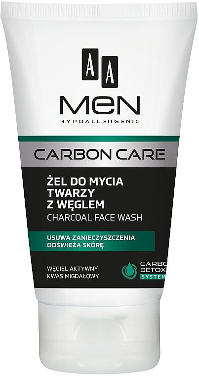 Gel de curățare cu cărbune - AA Men Carbon Care Charcoal Face Wash