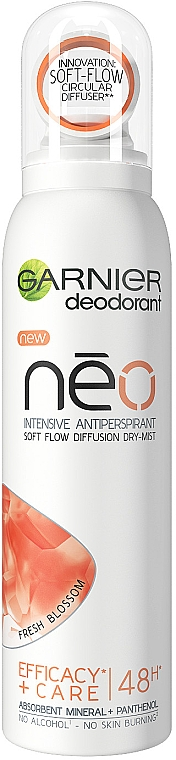 Deodorant spray - Garnier Mineral Neo Fresh Blossom Deodorant