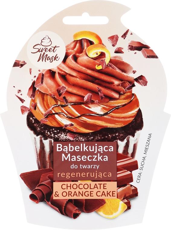 Mască regenerantă pentru față - Marion Sweet Mask Chocolate Orange Cake