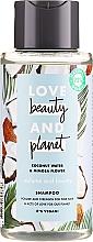 "Parfumuri și produse cosmetice Șampon ""Volum și Generozitate"" - Love Beauty&Planet Coconat Water & Mimosa Flower"