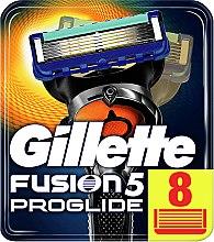 Parfumuri și produse cosmetice Casete de rezervă pentru aparat de ras, 2 buc. - Gillette Fusion ProGlide