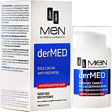 Parfumuri și produse cosmetice Cremă calmantă pentru față - AA Cosmetics Men derMed Anti-Redness Face Cream