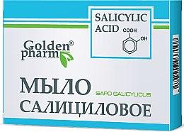 Parfumuri și produse cosmetice Săpun cu acid salicilic - Golden Pharm