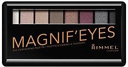 Parfumuri și produse cosmetice Paleta fard de ochi - Rimmel Magnif'Eyes Eyeshadow Palette (London Nudes Calling)