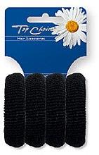 Parfumuri și produse cosmetice Elastice pentru păr 4 buc., 22531 - Top Choice