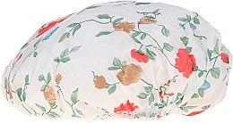 Духи, Парфюмерия, косметика Шапочка для душа, 9298, красные цветы - Donegal Shower Cap
