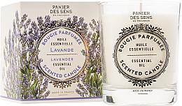 Parfumuri și produse cosmetice Lumânare aromatică - Panier Des Sens Decorative Scented Candle In Lavender Glass