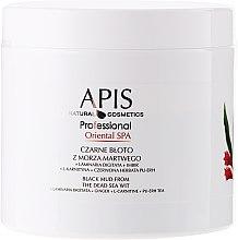 Parfumuri și produse cosmetice Nămol din Marea Moartă - APIS Professional Oriental Spa Dead Sea Black Mud