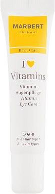 Cremă pentru zona din jurul ochilor - Marbert I love Vitamins Eye Care — Imagine N2
