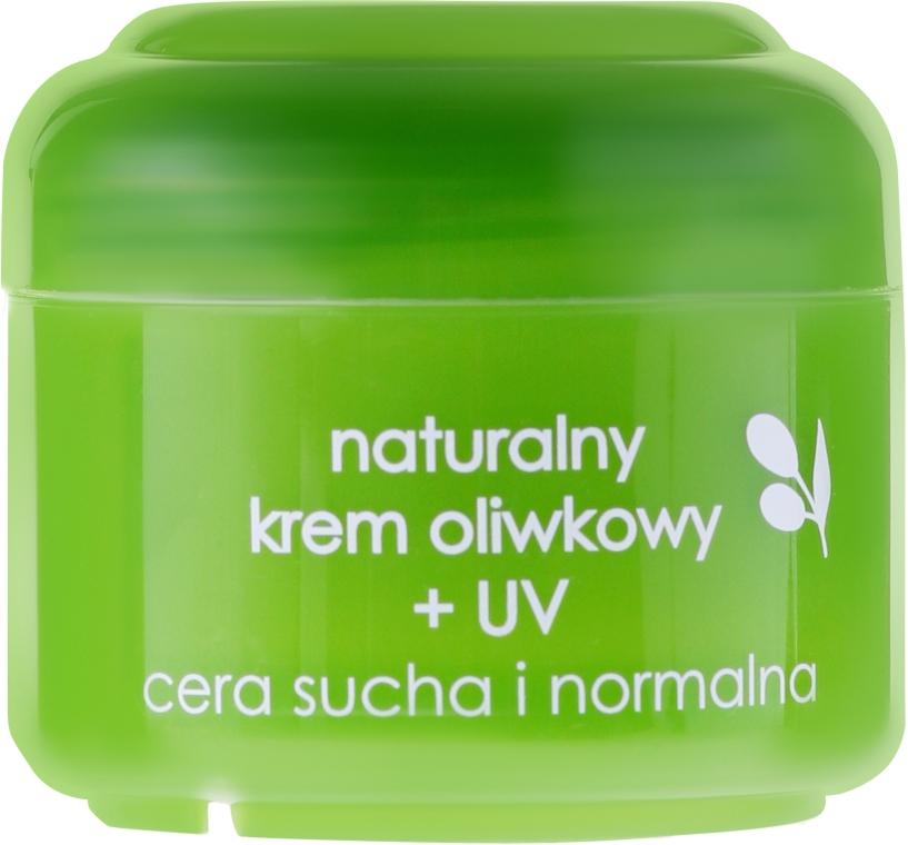 """Cremă de față """"Olive Natural"""" + UV - Ziaja Face Cream"""