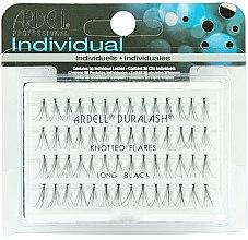 Parfumuri și produse cosmetice Gene false individuale - Ardell Duralash Naturals Knot Flare Long Black (56 Lashes)