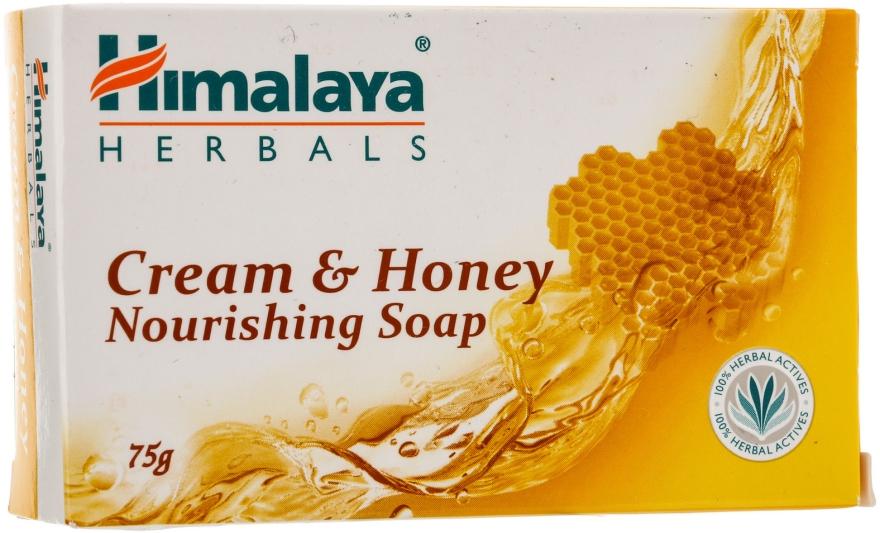 Săpun cremos nutritiv cu miere pentru pielea normală și uscată - Himalaya Herbals Cream Honey Soap