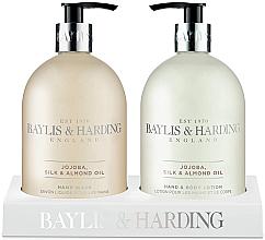 Parfumuri și produse cosmetice Set - Baylis & Harding Royal Bouquet Jojoba, Silk and Almond Oil (b/lot/500ml + soap/500ml)