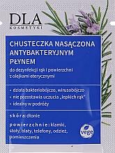 Parfumuri și produse cosmetice Șervețele antibacteriene de curățare - DLA
