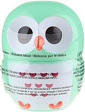 """Parfumuri și produse cosmetice Balsam de buze """"Bufniță"""", verde - Martinelia Owl Lip Balm"""