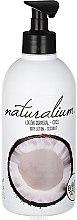"""Parfumuri și produse cosmetice Loțiune de corp nutritivă """"Nucă de cocos"""" - Naturalium Body Lotion Coconut"""