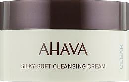 Parfumuri și produse cosmetice Cremă de spălare pentru față - Ahava Time to Clear Ahava Silky Soft Cleansing Cream