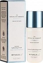 Parfumuri și produse cosmetice Ser facial - Rituals The Ritual Of Namaste Intense Hydrating Serum