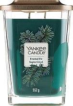 Parfumuri și produse cosmetice Lumânare parfumată - Yankee Candle Elevation Frosted Fir