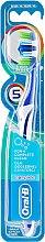 Parfumuri și produse cosmetice Periuță de dinți, albastru închis - Oral-B Complete 5 Ways Clean 40 Medium