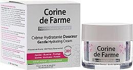 Parfumuri și produse cosmetice Cremă hidratantă pentru pielea uscată și sensibilă - Corine de Farme