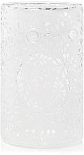 Parfumuri și produse cosmetice Lampă din sticlă pentru aromatrapie - Yankee Candle Sheridan Flower Glass Wax Melt Warmer
