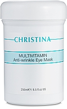 Parfumuri și produse cosmetice Mască multivitamin pentru zona din jurul ochilor - Christina Multivitamin Anti-Wrinkle Eye Mask