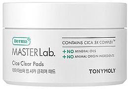 Parfumuri și produse cosmetice Patch-uri pentru față - Tony Moly Derma Master Lab. Cica Clear Pads