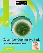 Parfumuri și produse cosmetice Patch-uri sub ochi - Beauty Formulas Cucumber Cooling Eye Pads